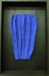 Bosco Sodi Zachate Azu, 77x50cm, Jason Ashes, Luffa (organic sponge)