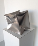 'Cube',  Stainless Steel 12x12x12 inch 30x30x30 cm