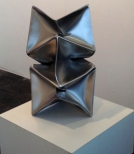 'Habakuk (Homage to Max Ernst)'  Stainless Steel 36x12x12 in 90x30x30 cm