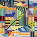 Manuel Ros Area 3 195x195cm acryl on canvas