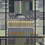 Manuel Ros Lysergic Work 2 180x180cm acryl on canvas