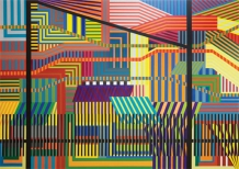 Manuel Ros Stop Being 200x280cm acryl on canvas