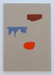 Larsen_Scrap Metal II, 61 x 43 cm, eggtempera on canvas, 2011