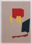 Larsen_Scrap Metal VI, 61 x 43 cm, eggtempera on canvas, 2011