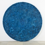 Bosco Sodi Blue Circle, mixed media, diameter 250 cm, 2010