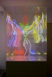 ART LIFTS BERLIN, 5 animated Circuits, 255 x 121 x 95 cm, 1998