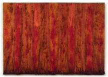 Bosco Sodi Organic Red Mixed media on canvas 200x28012cm, 2008