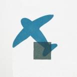 DOPPEL I of VI. ed. 12, 43x61 cm, 2c, Linocut, 2006