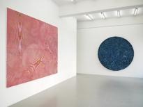 exhibition view John Aslanidis-Sonic Network No.12 BOSCO SODI-Organic Blue