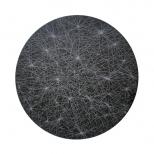 Wolski_Lunar Constellation, diameter 28cm, diamond engraving on 2cm granite, 2010