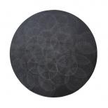 Wolski_Lunar Constellation, diameter 39.5cm, diamond engraving on 2cm granite, 2010