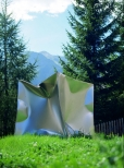 Cube Private Collection Vna, Switzerland 90x90x90cm 1999