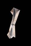 Ewerdt Hilgemann, imloded column (dancer), stainless steel, 200x50x50cm, 2003