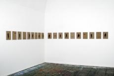 Ausstellungsansicht Kleine Berliner Blau