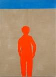 Sommer Sand Sonne IV, 200 x 150, eggtempera on canvas, 2008