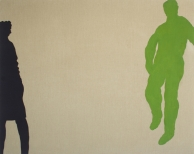 Plaza II, 200x250cm, eggtempera on canvas, 2008