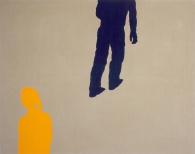 Plaza I, 200x250cm, eggtempera on canvas, 2008