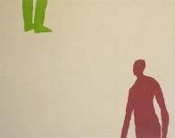 Plaza V, 200x250cm, eggtempera on canvas, 2008