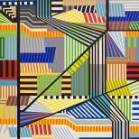 Manuel Ros, Area III, 195x195cm, acrylic on canvas, 2008