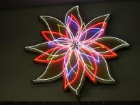 NIGHTBLOOMING FLOWER, 7 Transformators, 4 animated Circuits, ø 225 cm, 1998