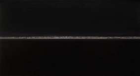 barcelona reverse, oil on wood, 126 x 223 cm, 2010