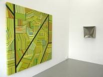exhibition view Manuel Ros-Area 2 Ewerdt Hilgemann-Wall Cushion