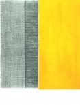 ohne Titel  Gouache, Farbstift und Kohle auf Papier 36x28cm, 2009