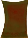 Talent (braun) Ölstift und Lack auf Papier 36x28cm, 2011
