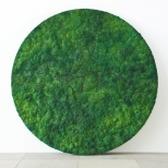 Bosco Sodi Green Circle, mixed media, diameter 250 cm, 2010, private collection Marrakesch