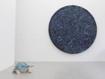 Wilks-Sodi Ceramic Tortoise Timelines-Blue Circle ø250cm